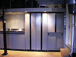 garage workshop cabinets loversiq furniture metal and stainless steel garage cabinets with overhead storage ideas for small modern design cab