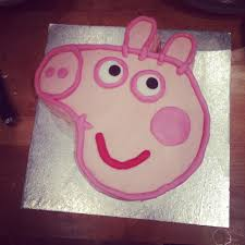presenting peppa simple peppa pig cake mumblings