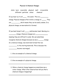 chemical u0026 physical changes by michael1989 teaching resources tes