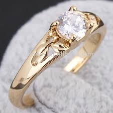 white zircon rings images Women gold plated white zircon rings moroccan wedding rings am jpg