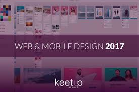 trends in web u0026 mobile design 2017 u2013 keetup mobile blog