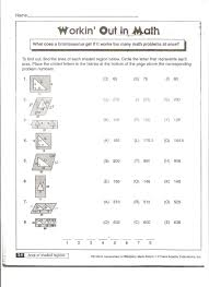 worksheet on area and perimeter of quadrilaterals worksheets
