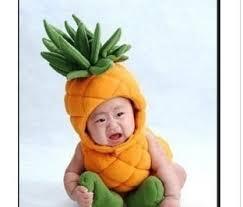 Etsy Infant Halloween Costume Pineapple Costume Perfect Newborn Infant Baby Boy