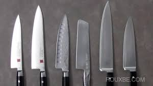 Basic Kitchen Knives Selecting A Kitchen Knife Set Youtube