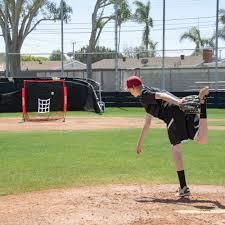amazon com gosports 5 u0027x5 u0027 baseball u0026 softball practice pitching