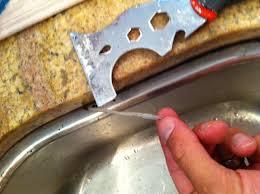 how to recaulk kitchen sink re caulking undermount kitchen sink diy pinterest sinks
