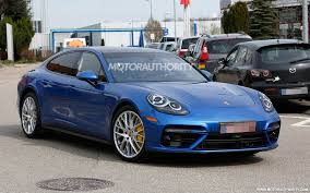 porsche panamera 2017 first details on new porsche v 8 debuting in next gen panamera turbo
