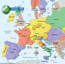 Map Of Central Europe Map Of Europe 1500 Thefreebiedepot