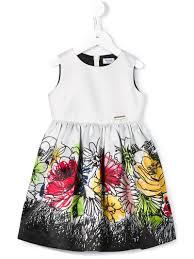 moschino kids flower print shirt dress toddler u0027s size 4