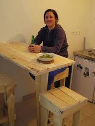 fabriquer table cuisine fabriquer une table bar de cuisine fabriquer table haute cuisine