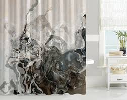 Artistic Shower Curtains Shower Curtain Etsy