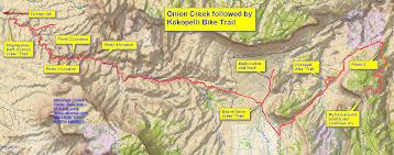 Delorme Maps Moab Day 3 Onion Creek And Kokopelli Bike Trail Ham Radio Answers