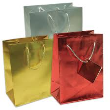 gold gift bags foil gift bags jam paper