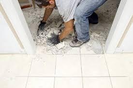 repairing tile grout lines
