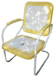 excellent retro lawn chairs 1950s pertaining to metal outdoor
