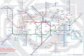 underground map strike here s what the underground map will look like