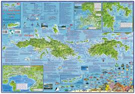 st islands map us islands guide and dive franko s fabulous maps of