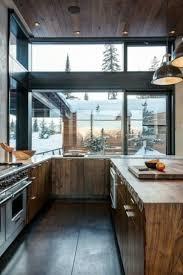 cuisine chalet montagne idées cuisine focus sur la cuisine chalet moderne