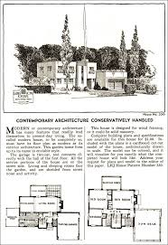 modern style home plans vintage house plans 1935 modern style home journal