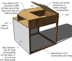 How To Make A Platform Bed With Plywood by Ana White Corner Hutch Plans For The Twin Storage Beds Diy
