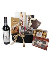 wine gifts delivered send wine and chocolate extravaganza flowers gift baskets and