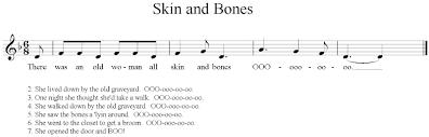 halloween songs lyrics
