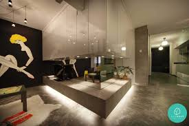 hdb cement living rm http blog qanvast com 10 beautiful