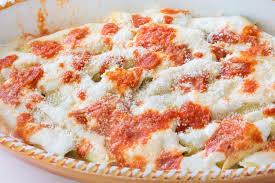 cuisine italienne cannelloni cannelloni cannelloni di magro bourré fait maison avec les épinards
