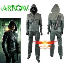 arrow halloween costume party city buy green arrow season one oliver queen cosplay costume man