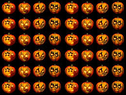 jack o lantern desktop wallpaper jack o lanterns pattern halloween wallpaper