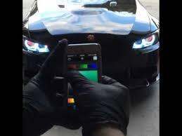 audi color changing car changing car headlight colors via phone