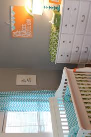 aqua we designed our modern nursery with a color palette of grey