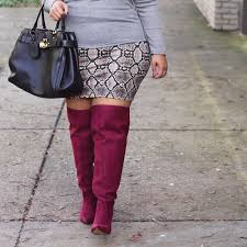 s boots plus size calf plus size wide calf the knee boots from eloquii plus size