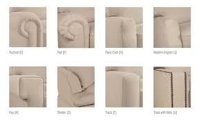 sofa styles sofa arm styles home design