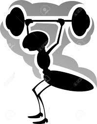 imagenes de archivo libres de derechos ilustración de levantamiento de hormiga para levantar la barra de