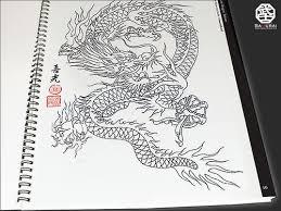 25 best black dragon tattoo sketch images on pinterest black