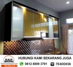 Kitchen Set Aluminium Kitchen Set Aluminium Bintaro 0812 8899 3791 Kitchen Set