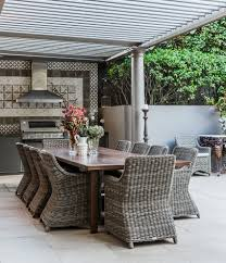 modern outdoor dining table outdoor dining ideas landscape modern with outdoor dining table