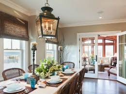 Coastal Dining Room by Spotted From The Crow U0027s Nest Beach House Tour Surf Road Nj