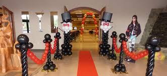 hollywood theme party ideas balloon artistry bat u0026 bar mitzvah