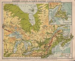 Eastern Canada Map by Us Map North East Coast Google Images Eastern Us Surface Map Map