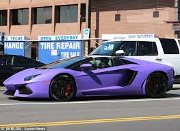 owning a lamborghini aventador rapper tyga set to his 400 000 lamborghini repossessed