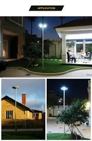 led driveway pole lights 12v backyard driveway led solar powered street light bright smart