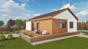 house a61 small tiny bungalow home 125 square meters youtube