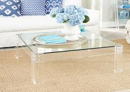 lucite waterfall coffee table decoration led acrylic coffee table leon s acrylic coffee table