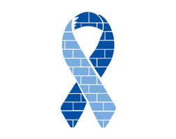 blue support ribbon disease etsy