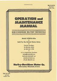 motorcycles paperprint wwii military vehicle manuals