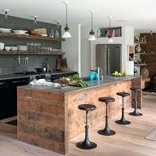 meuble cuisine bois recyclé meuble cuisine bois recycle meuble cuisine bois et zinc pour idees