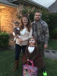 Newborn Family Halloween Costumes by Deer Family And The Hunter Costume Ideas Pinterest Deer