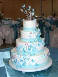 butterfly wedding cakes and gems blog wedding cake blue